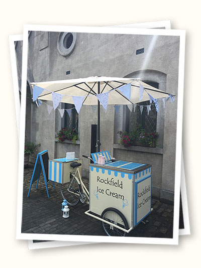 vintage Styled ice cream Bike