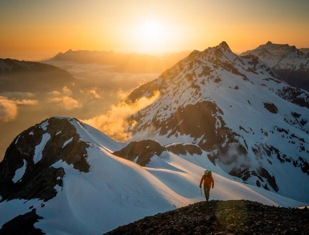 Scott Kranz 50 Peaks North Cascades Ruth Mountain