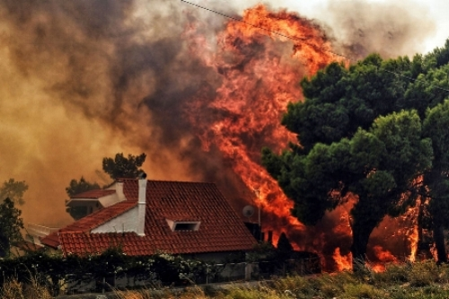 wild fires n Greece