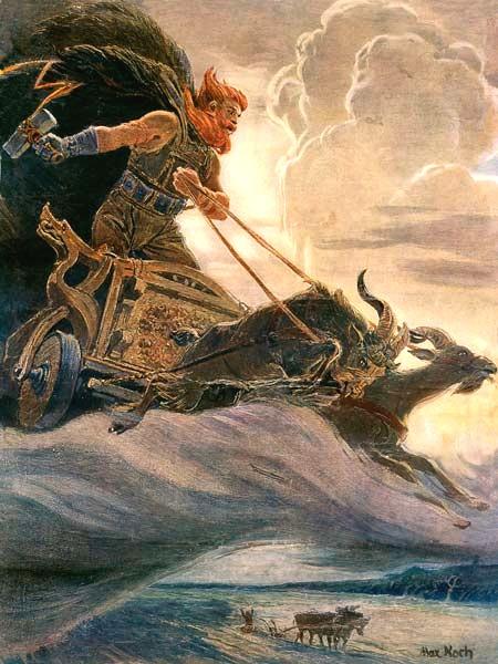 """""""Thor"""" by Max Friedrich Koch"""