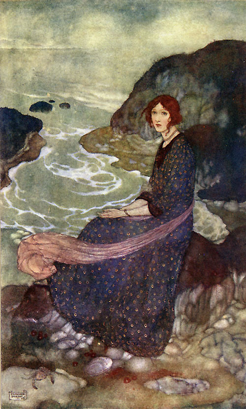 """""""Abysm of Time"""" by Edmund Dulac"""