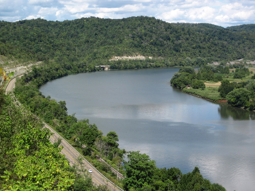 The Ohio River: a description, the nature of the current
