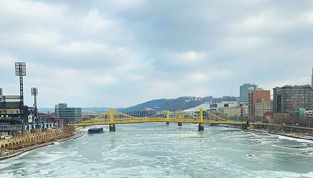 Another gloomy day in Pittsburgh ❄️ New blog coming soon about the effects of climate change on our rivers!