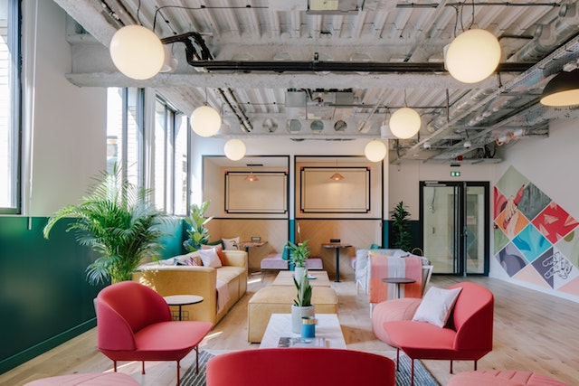 Photo from  WeWork.com  at their infamous office in La Fayette, Paris