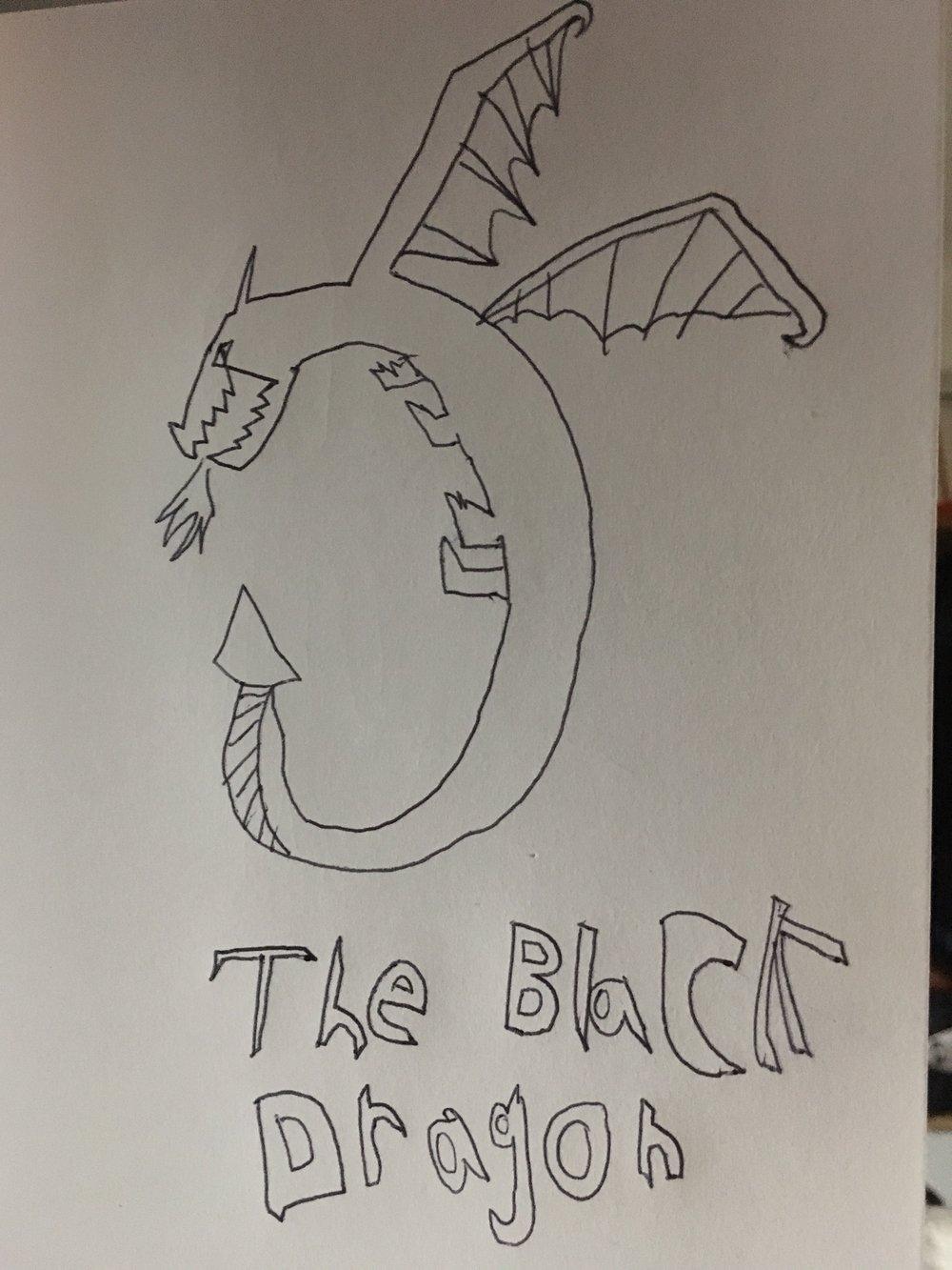 Black Dragon Drawing.JPG