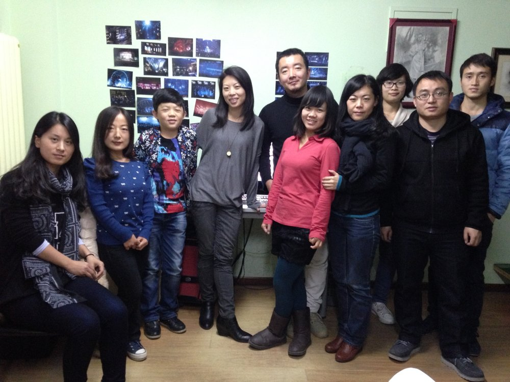 Our BEIJING TEAM with Jessica visiting from LOS ANGELES