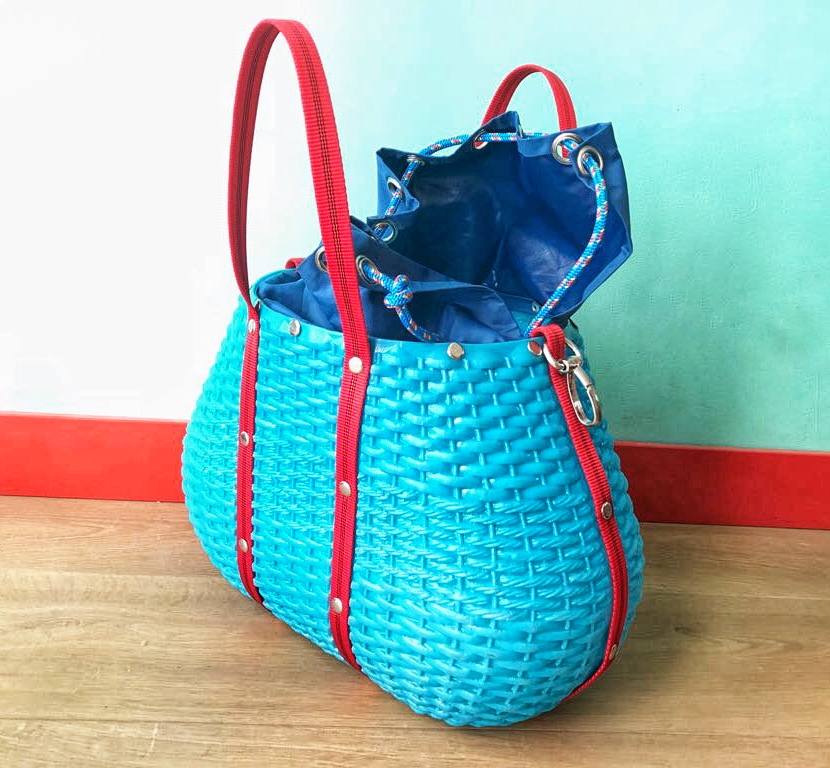Bolsa de plástico restaurada
