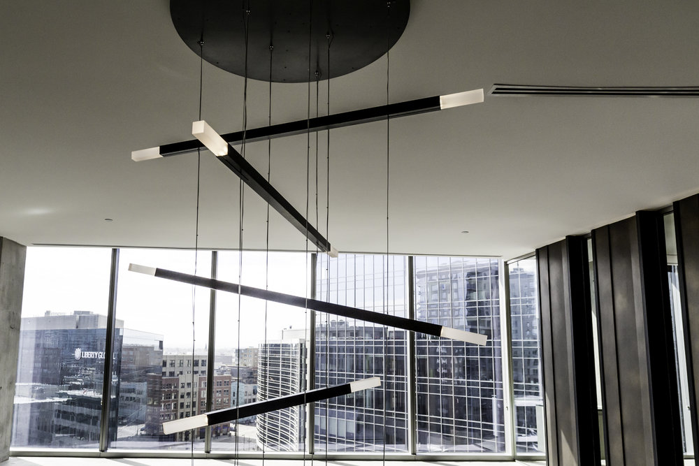 Contardi,  Custom LED Pendant   Hogan Lovells