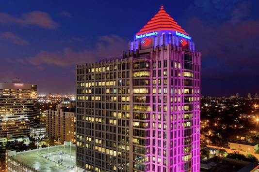 We would hate to sweep off our Color Kinetics façade lighting at night - hoping for an exception in a future code release. (Photo by Philips Color Kinetics).