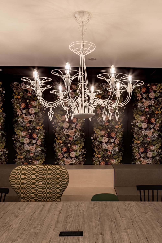 Uplight Group Metalux collection, Dedalo 8A chandelier      HomeAdvisor