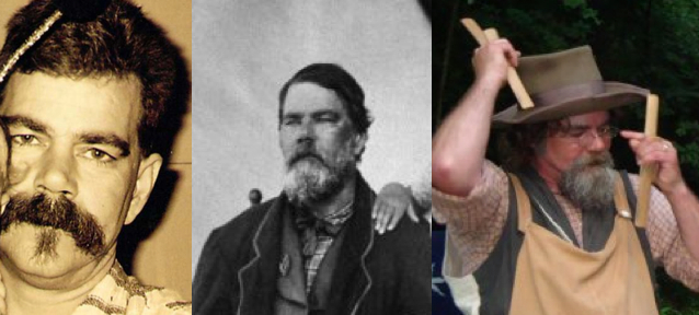 beard triptych