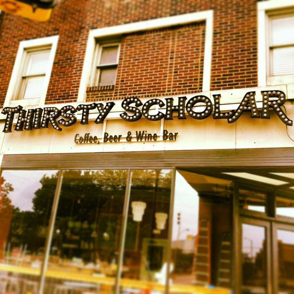 thirsty scholar