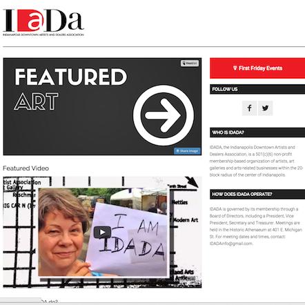 idada webpage