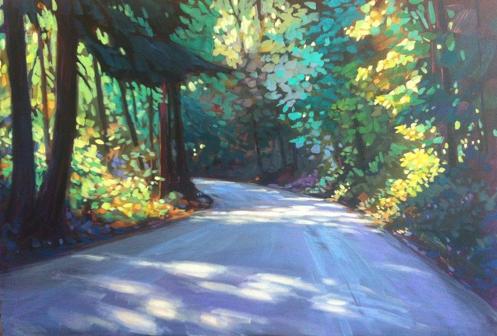Yesterday's Road - 24x36
