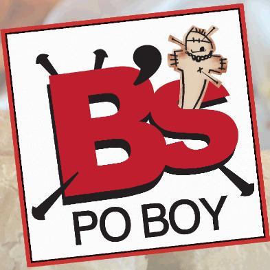 b's po boy logo
