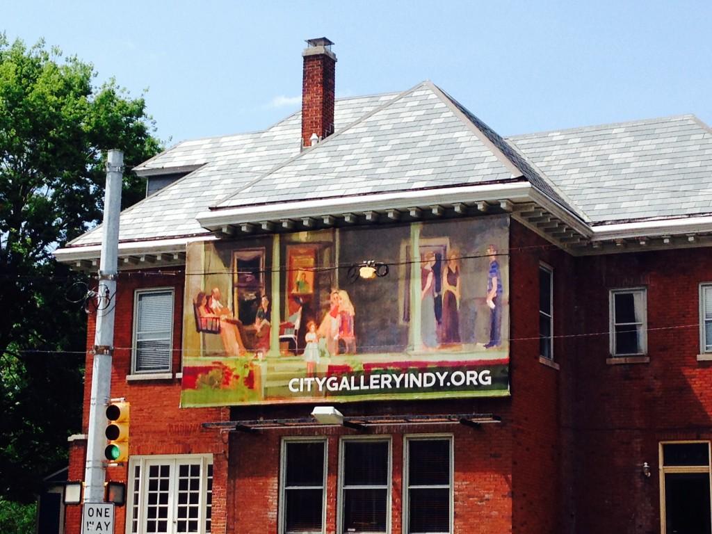 porch party billboard