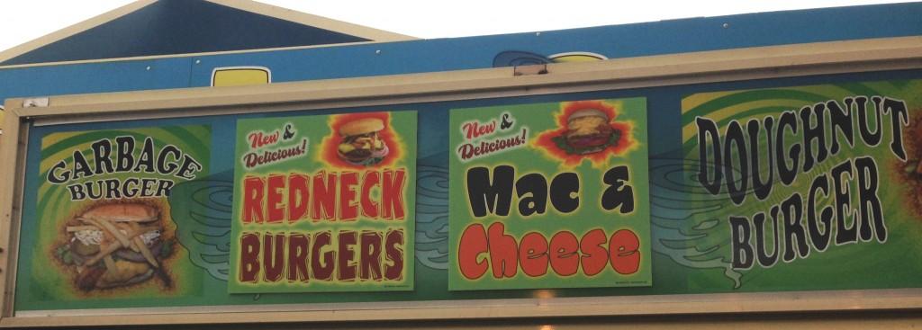 fair - redneck burgers