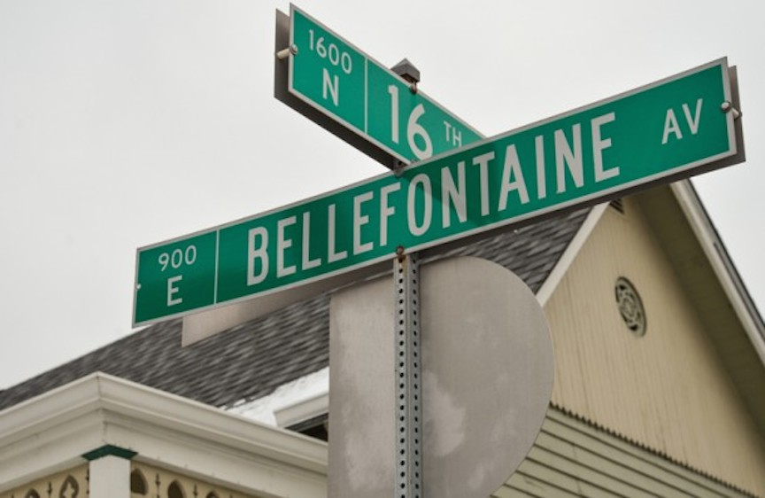 Bellefontaine-Street-Sign-Historic-Indianapolis-by-Sergio-Bennett-NAP360-610x397