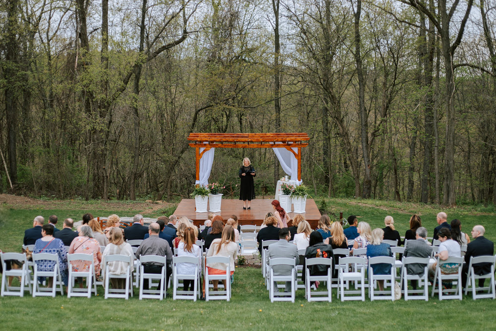 Shutter Up Studios   Wedding photographer in Pittsburgh, Pennsylvania   Rustic elegant country chic ceremony