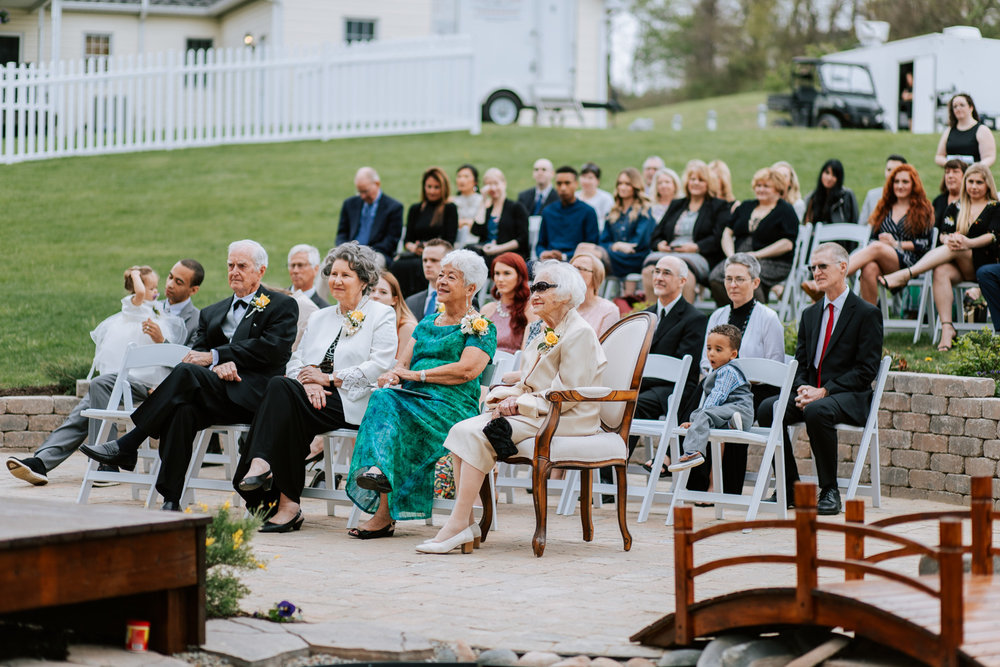 Shutter Up Studios   Wedding photographer in Pittsburgh, Pennsylvania   Outdoor rustic elegant country chic ceremony at home