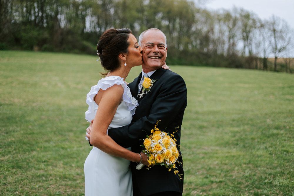 Shutter Up Studios   Wedding photographer in Pittsburgh, Pennsylvania   Bride and groom in field