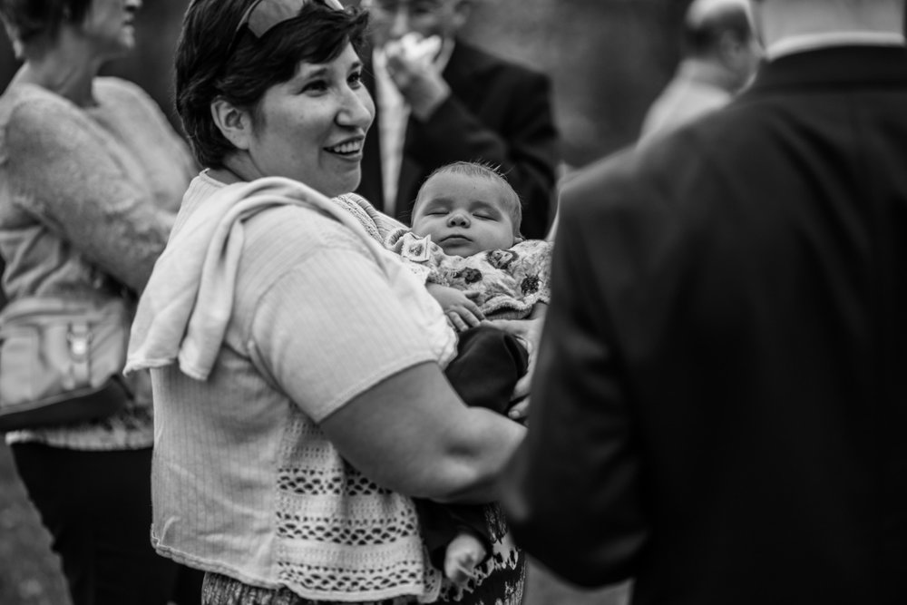 Shutter Up Studios   Wedding photographer in Pittsburgh, Pennsylvania   Black and white wedding guests