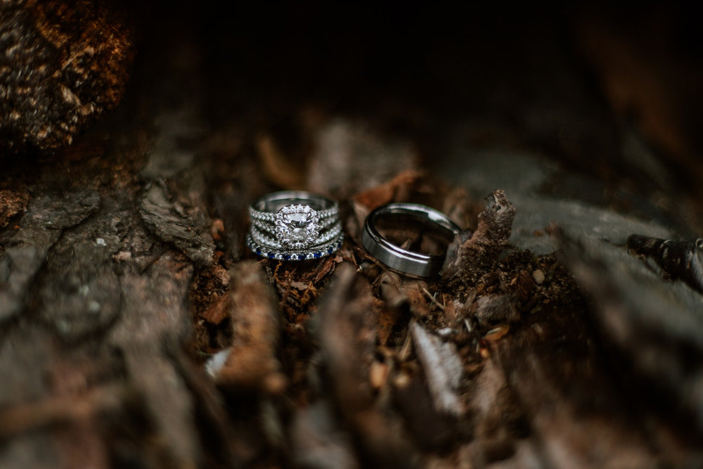 Shutter Up Studios   Wedding photographer in Pittsburgh, Pennsylvania   Diamond and sapphire rings and bands
