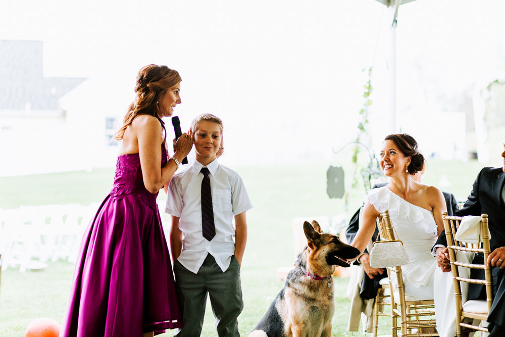 Shutter Up Studios   Wedding photographer in Pittsburgh, Pennsylvania   Bridesmaid speech