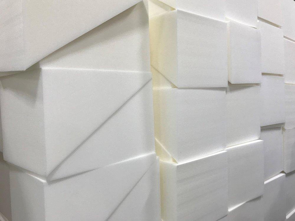 Foamnasium polyurethane foam play blocks