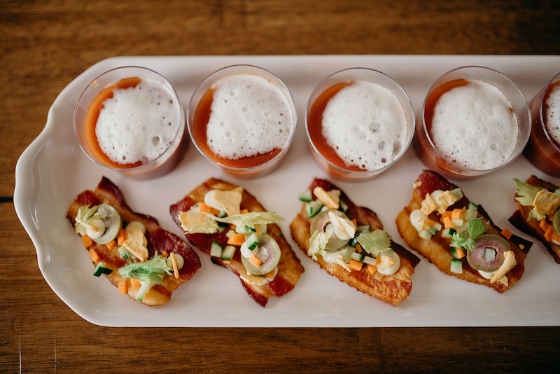 @poppies.and.paisely.photos  | Bacon & Bloody Mary Brunch Bites