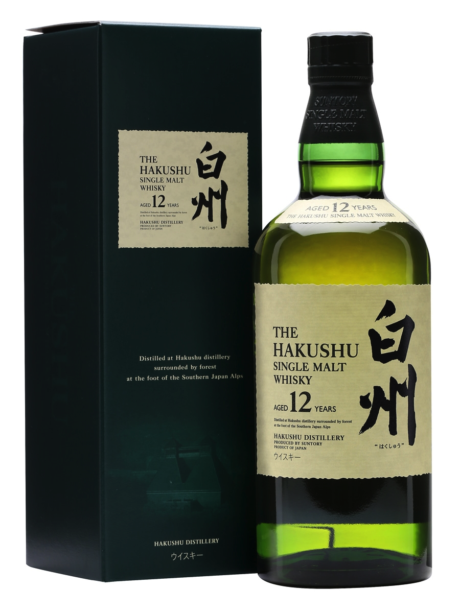 Hakushu 12 - 1.     Hakushu 12 – Average Price: $90At the top of our list is the Hakushu 12. Here at Dram & Oak, not only is this our favorite whisky under $100, it is also our favorite 12-year aged whisky in the world. Truly one of the most unique whiskies you will have the pleasure of trying. This whisky has layers amongst layers of citrus and peat that lingers and transforms throughout your sip in a remarkable fashion. The peat is unlike traditional Islay peat, as the whisky ages in the forest of Japan. Therefore the salinity is non-existent and you get a remarkable balance of citrus and earthy qualities. A truly remarkable and underrated whisky. Enjoy before it is discontinued. Kanpai!
