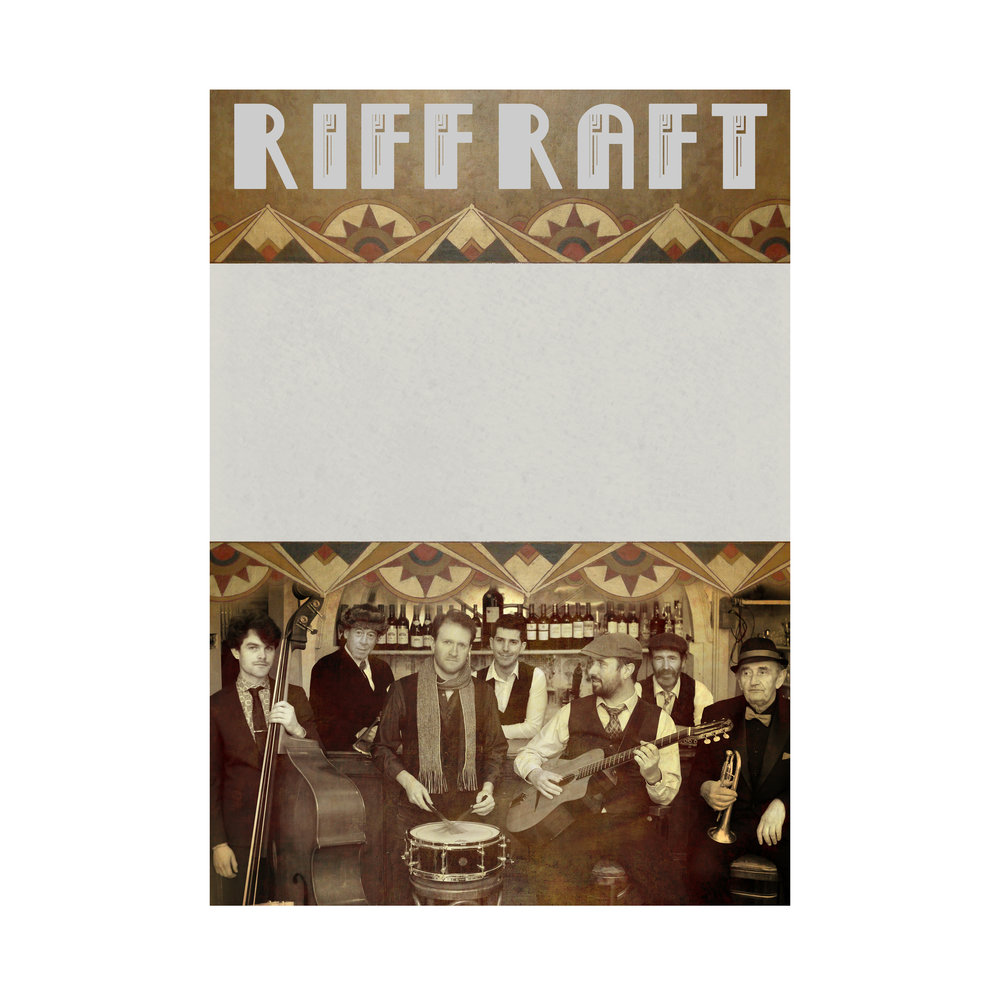 Generic A3 Poster Design: Riff Raft 2018