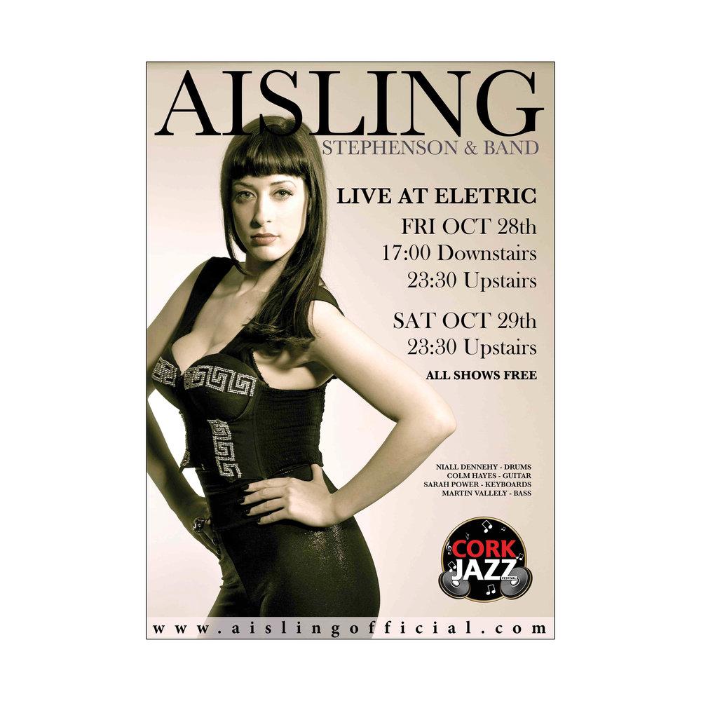 A3 Poster Design: Aisling Iris @ CJF 2011