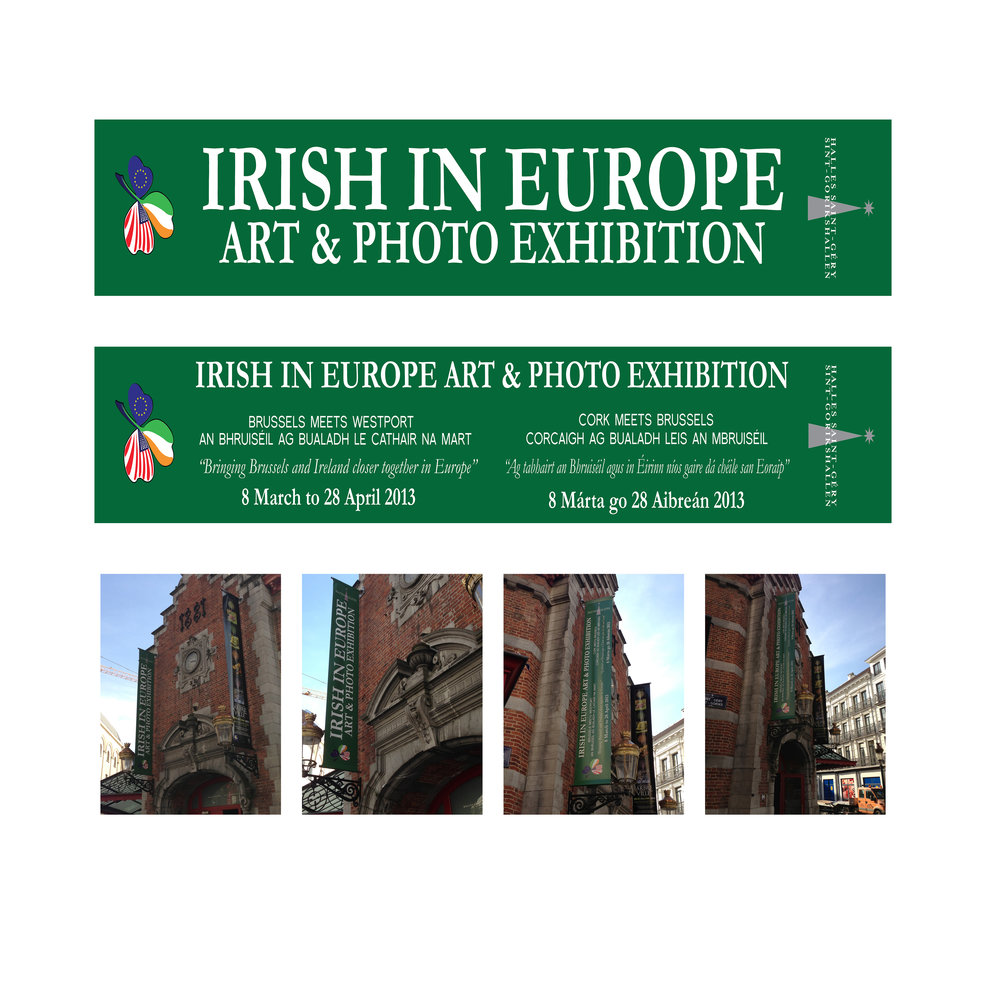 Large Outdoor Banner Design: Brussels 2013