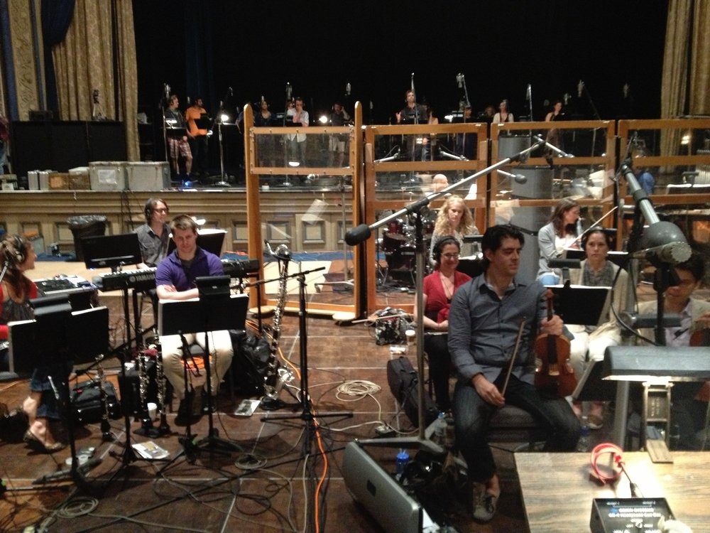 Dr. Zhivago Cast Album Recording