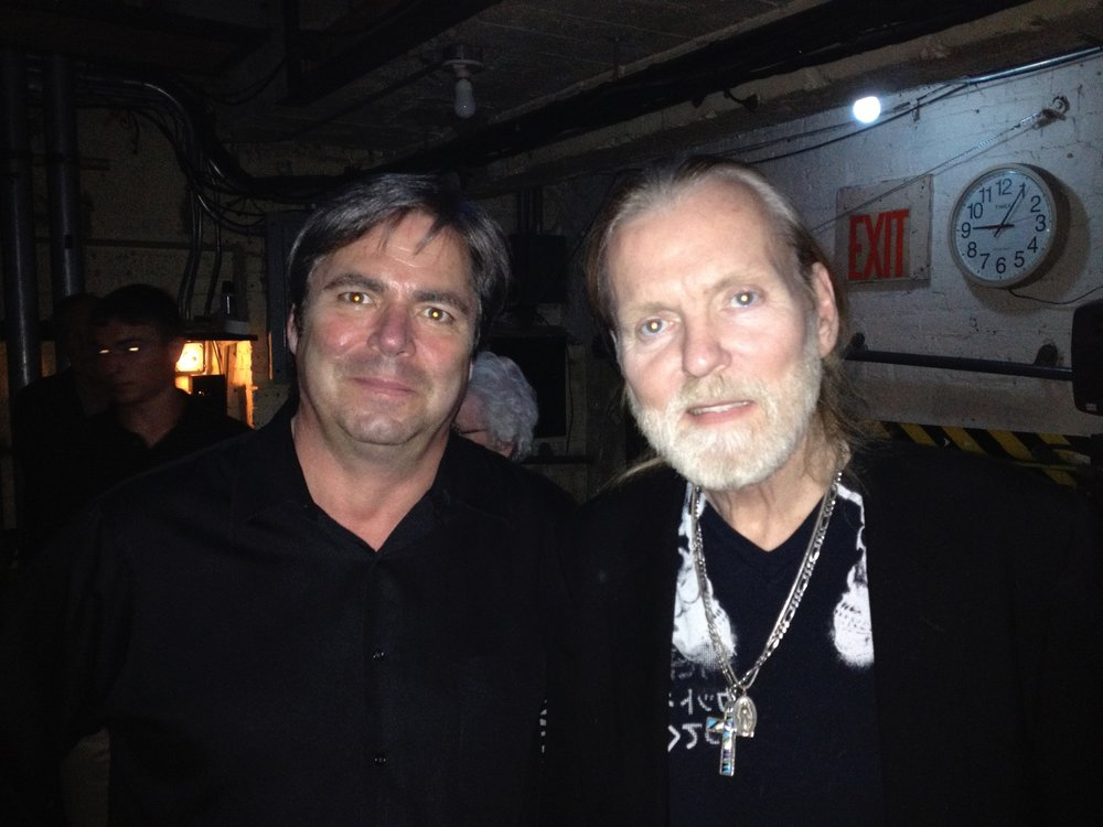 with the legendary Gregg Allman