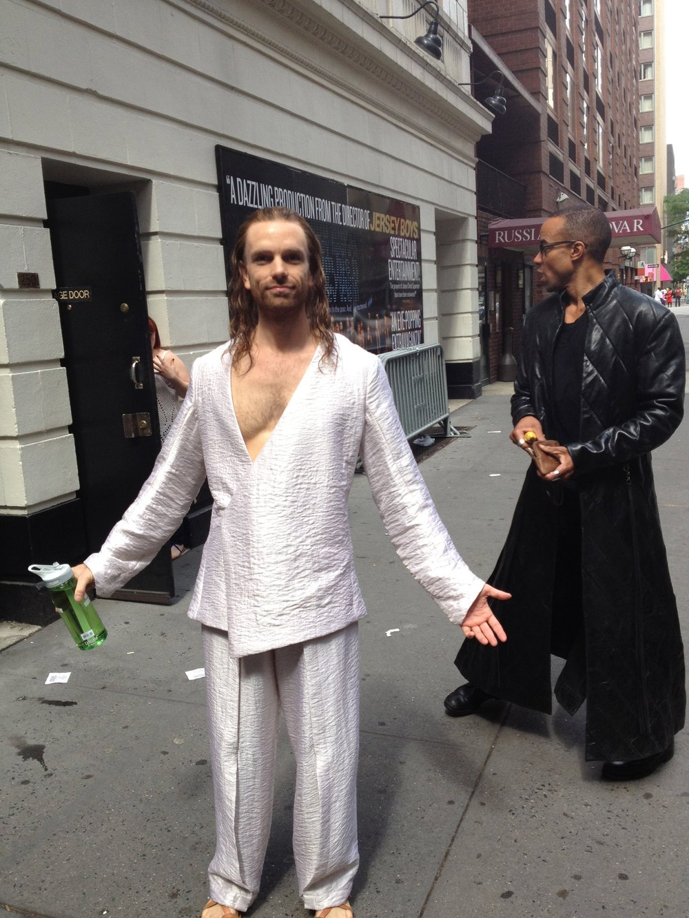 Jesus on 52nd St.