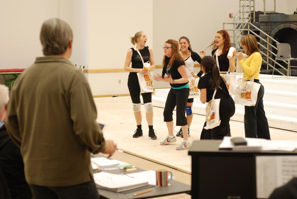 WWRY rehearsal