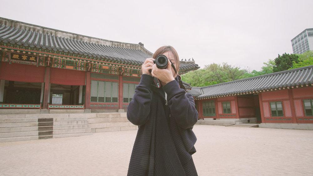 Check-out之後, 到旅館附近的德壽宮參觀, 首爾所有的宮我都收集完了!