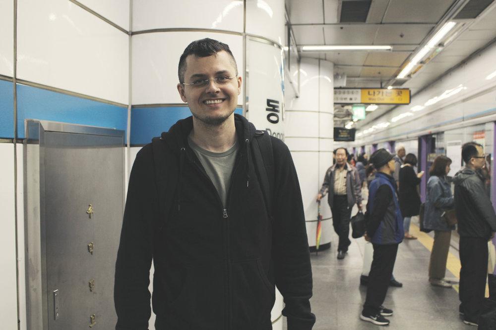 很喜歡首爾的地鐵