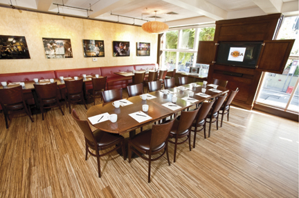 Fillmore Mezzanine for Business Lunches