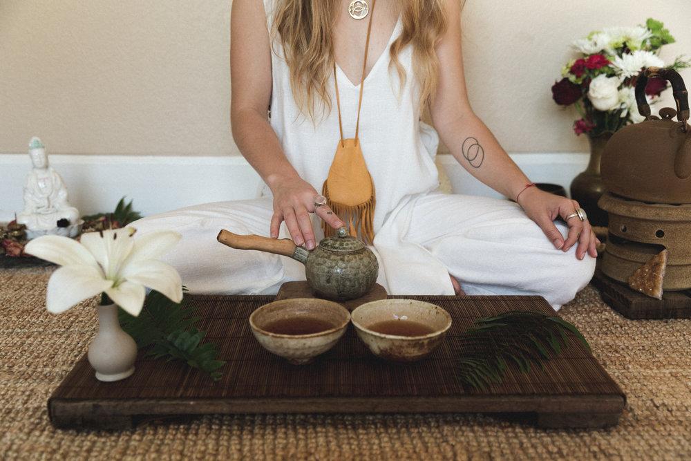 Sacred Tea Ceremonies in St. Petersburg, Tampa & Sarasota