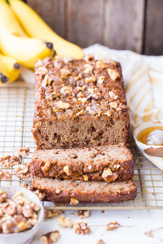 Honey Nut Banana Bread
