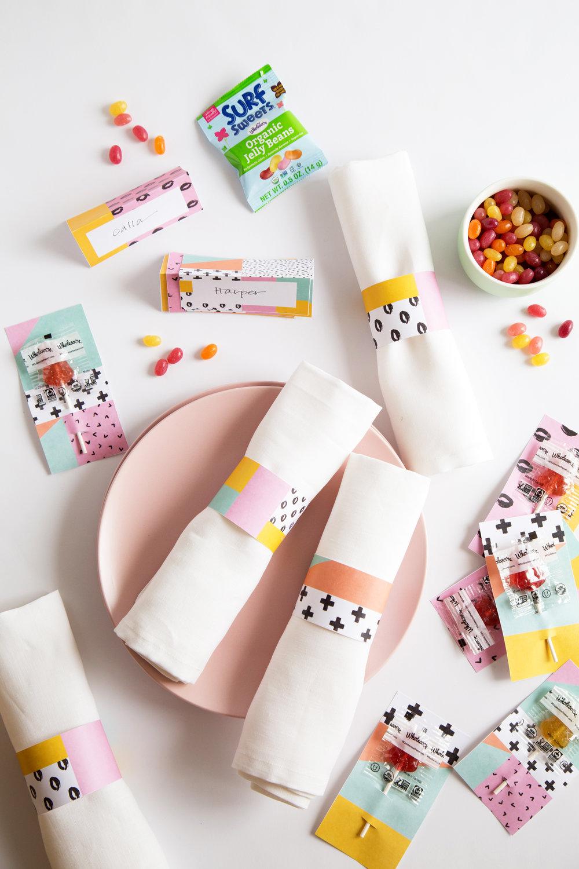 Printable Candy Decor