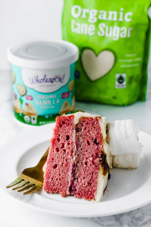 Vegan Strawberry Cake