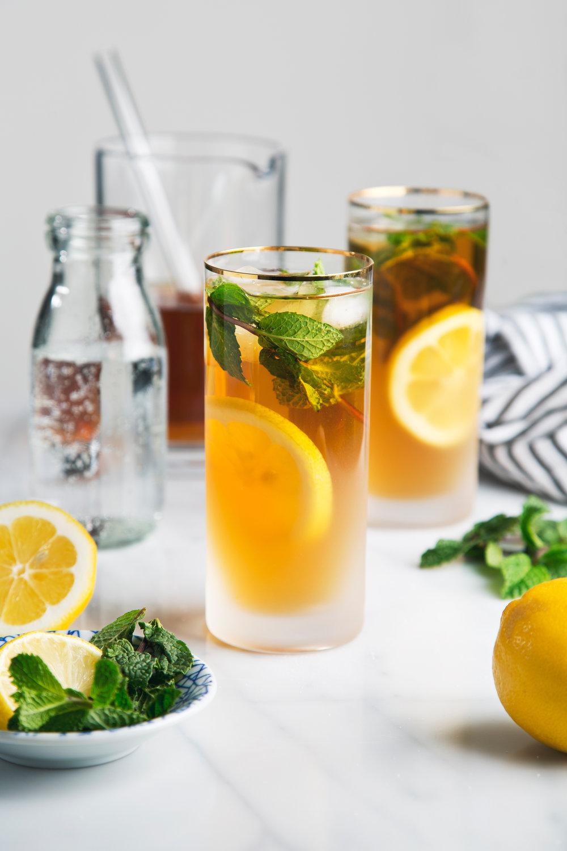 Mint Green Tea Soda