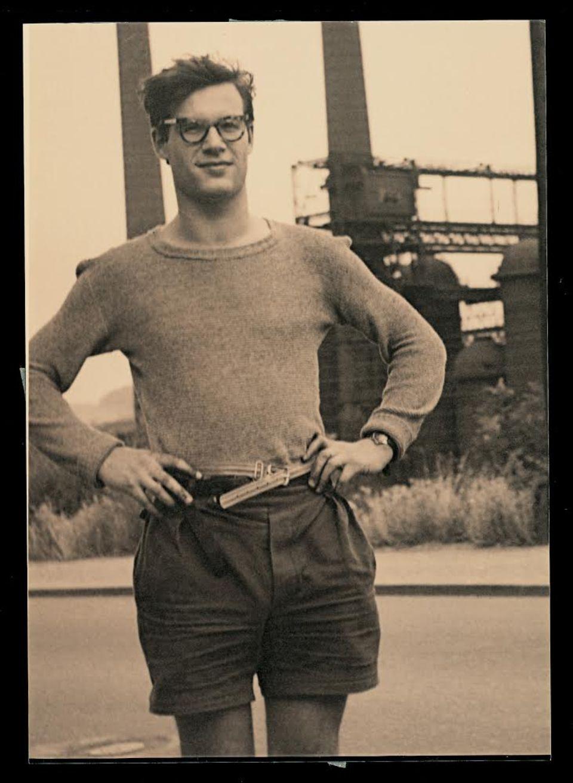 Alexandre Grothendieck (20 ans) à Pont-à-Mousson en 1948.