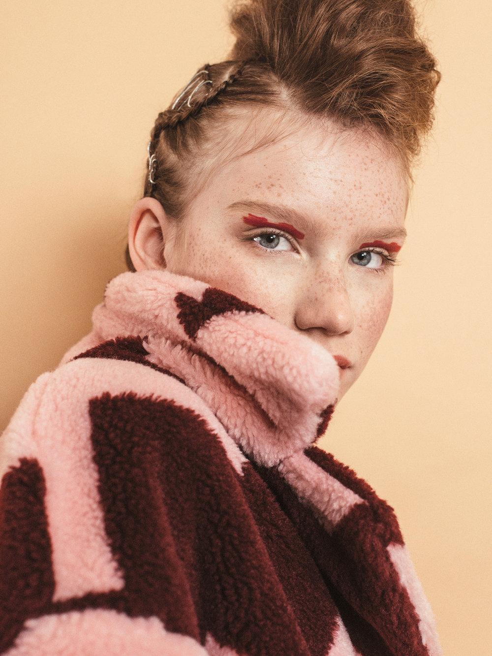 Aboutthatlook Ninni Tokalija, Maria Wahlström, Emma Grann, Elin Braid, Studio Emma Svensson for Lucys Magazine