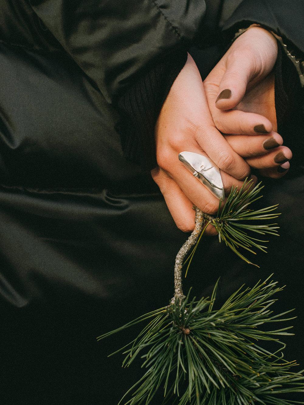 Jacket ZARA, Jewellery Kalevala