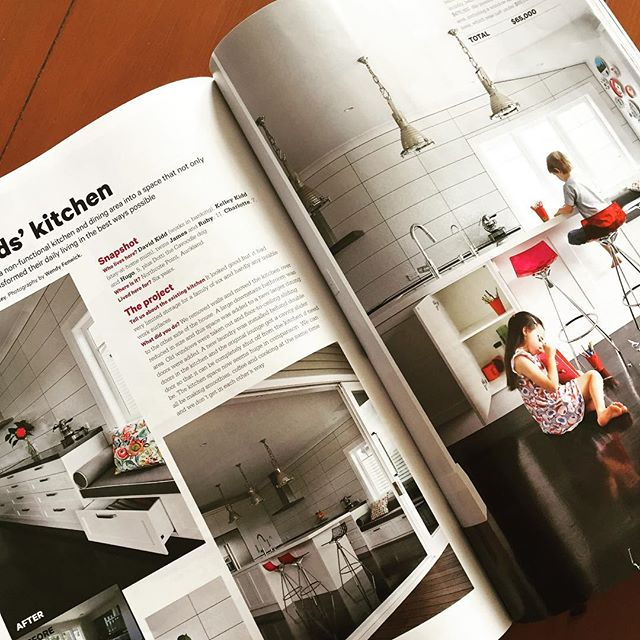 Go check us out in this months Your Home and Garden magazine @yourhomeandgarden #kitchen #installation